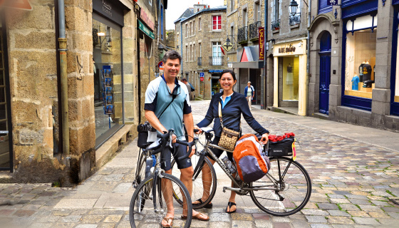 Brittany & Normandy Biking Tour